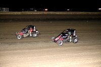 with Rico Abreu #67  Belleville (KS) High Banks 8-3-13