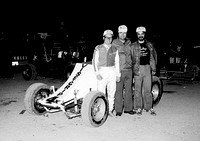 With Speedy Bill Smith & Tom Sanders  1st Woo Race Devils Bowl 3-17-78
