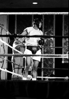 Ali trains for Jerry Quarry fight