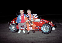 with his father Indy Speedrome 7-24-92