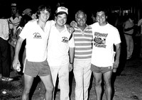 Mike, Bobby, Bob and Terry  Terre Haute 9-10-78