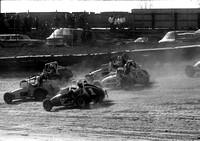 #63 with Bigelow 55, Dickson 1,  Pancho 4 & Sessions   Eldora 4-11-76