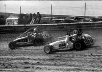 #63 with Lee Osborne #89  Eldora 4-11-76