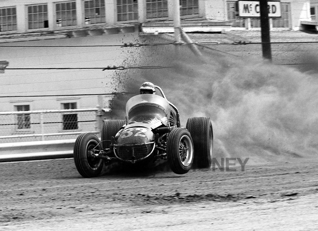 Johnny Rutherford  Hoosier 100 9-6-69